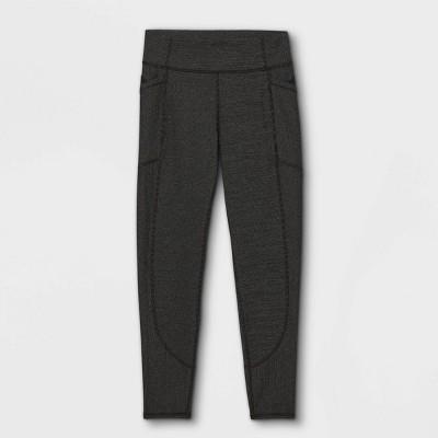 Girls' Textured Pocket Leggings - All in Motion™