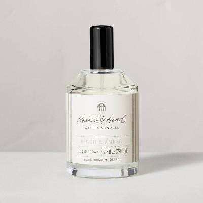 2.7 fl oz Birch & Amber Seasonal Refresher Room Spray - Hearth & Hand™ with Magnolia