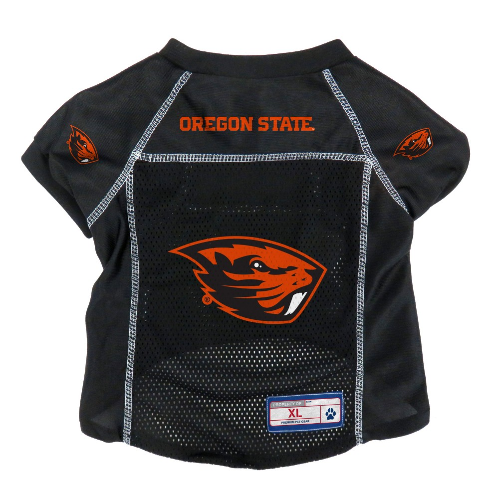 Oregon State Beavers Little Earth Pet Football Jersey - L, Multicolored