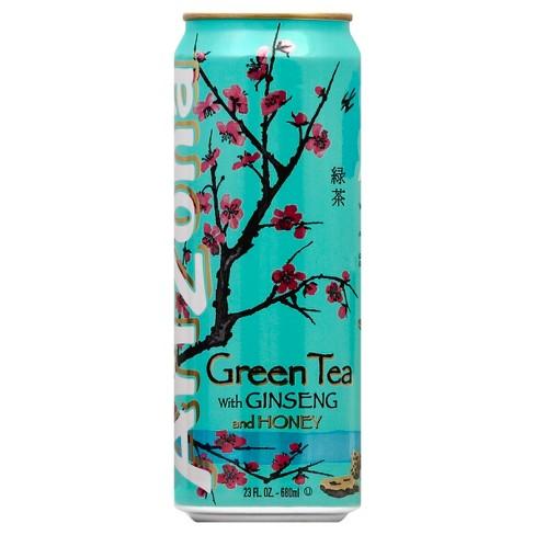 Arizona Green Tea With Ginseng And Honey 23 Fl Oz Can Target