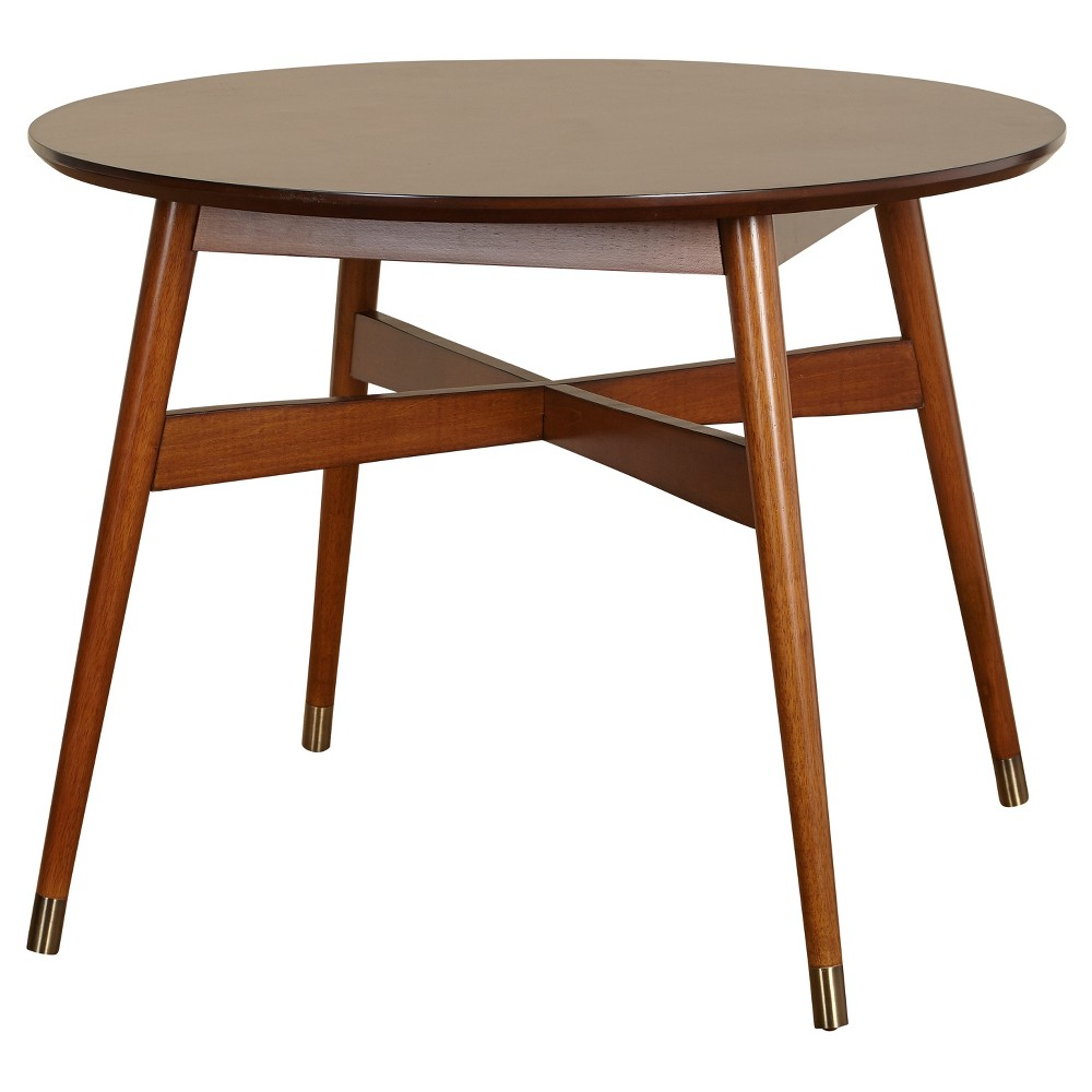 Image of Allen Dining Table - Walnut - Angelo:Home, Brown