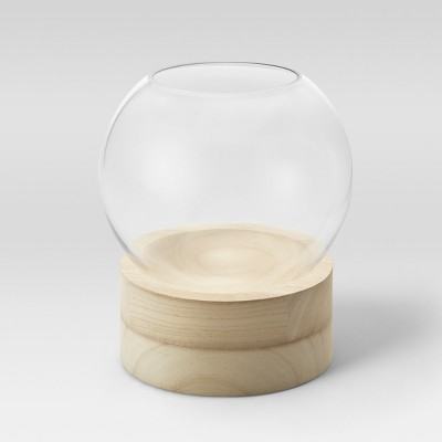 8.4  Wood Glass Terrarium - Threshold™