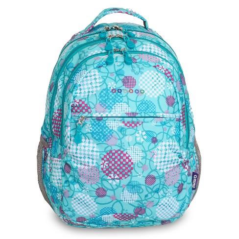 """JWorld 19"""" Cornelia Laptop Backpack - Dandelion - image 1 of 4"""