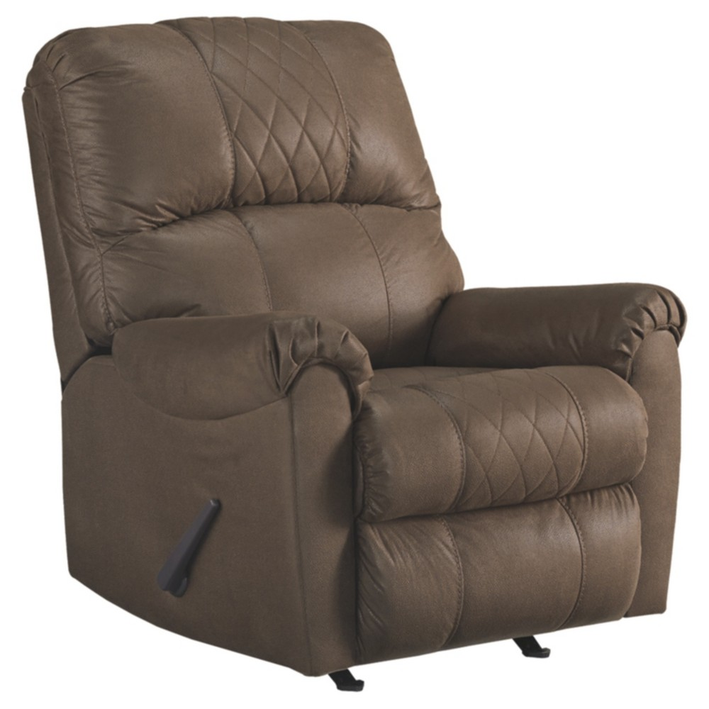 Narzole Rocker Recliner Coffee Brown - Signature Design by Ashley