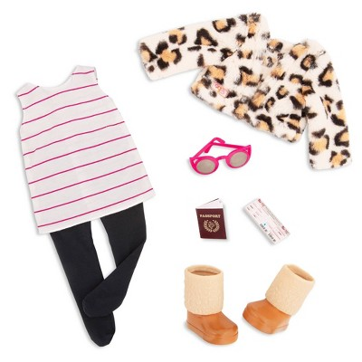 """Our Generation Fashion Outfit for 18"""" Dolls - Travel Chic"""