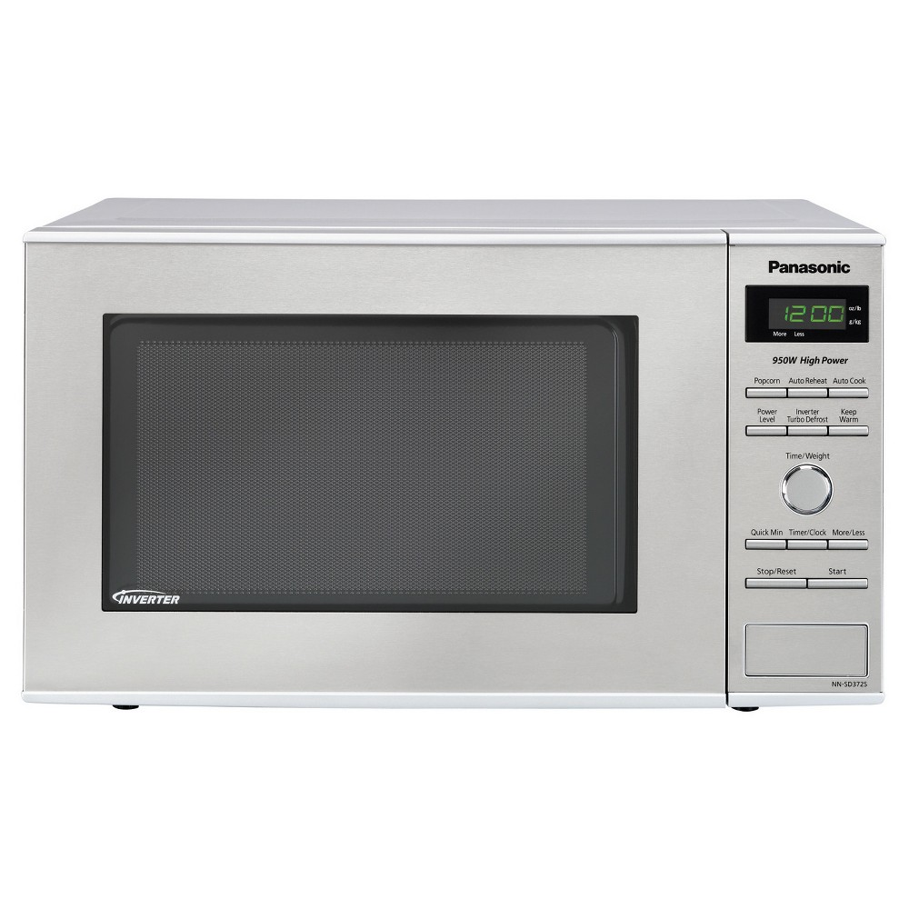 Panasonic 0.8 Cu Ft Microwave Oven Stainless – NN-SD372S, Silver 51194421
