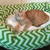 Majestic Pet® Chevron Sherpa Bagel Dog Bed - image 3 of 3