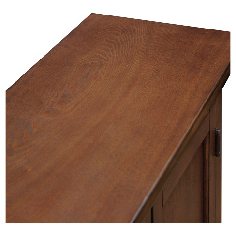 Traditional Foyer Cabinet Hall Stand Westwood Oak Leick Home Target