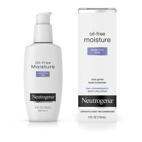 Neutrogena Oil-Free Daily Sensitive Skin Face Moisturizer - 4 fl oz - image 1 of 10