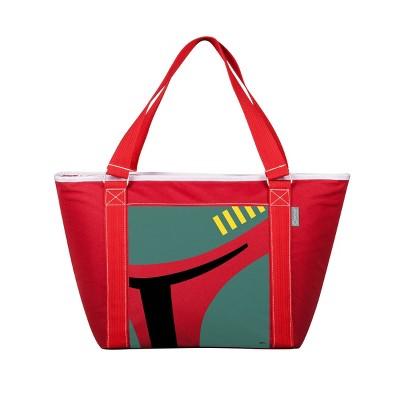 Picnic Time Star Wars Boba Fett Topanga 63qt Tote Cooler Bag - Red