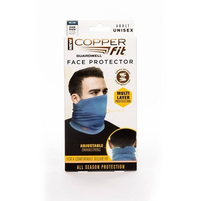 Copper Fit Guardwell Face Mask Blue