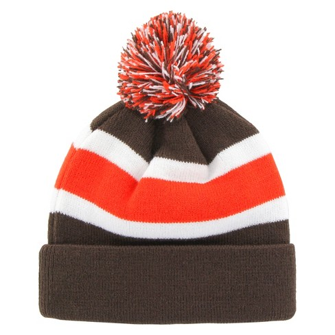 f23747472 Cleveland Browns Fan Favorite Breakaway Beanie With Pom : Target