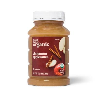 Organic Cinnamon Applesauce - 24oz - Good & Gather™