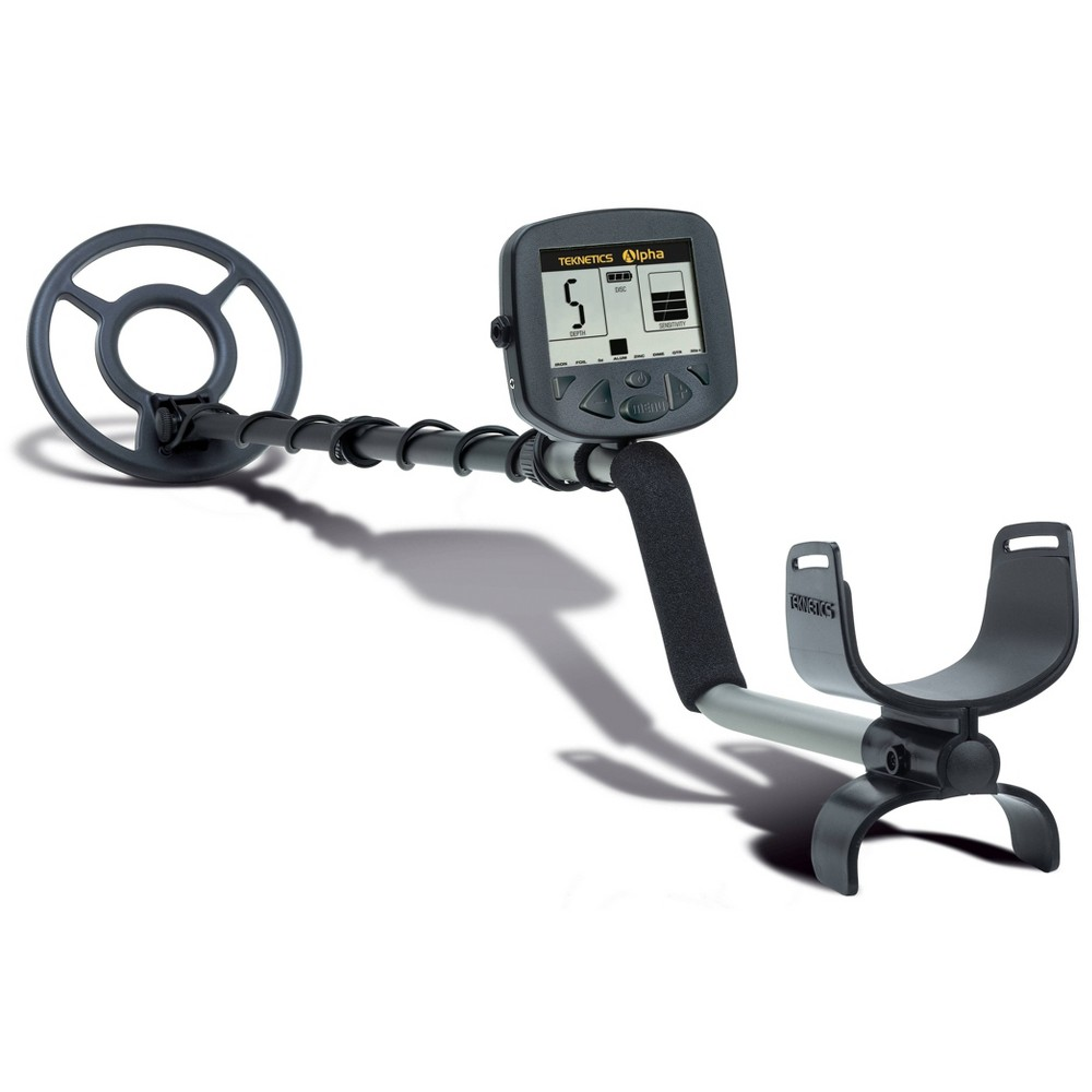Image of Teknetics Alpha 2000 Metal Detector - Black