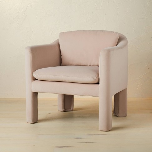 Linaria Fully Upholstered Velvet Accent Chair - Opalhouse™ designed with Jungalow™  - image 1 of 4