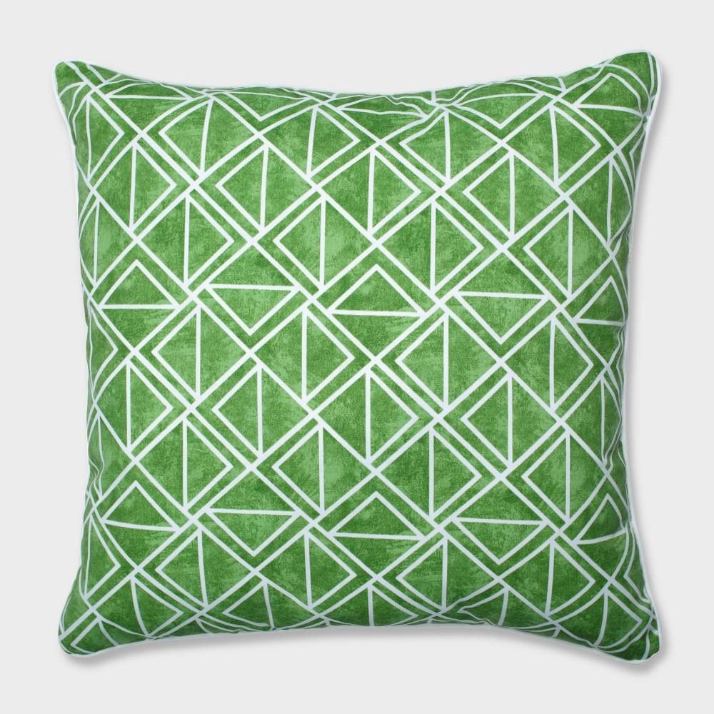 25 Lanova Palm Floor Pillow Green - Pillow Perfect
