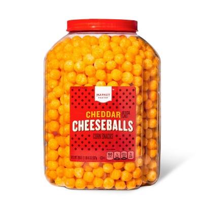 Cheddar Cheese Balls - 20oz - Market Pantry™
