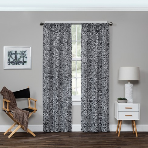 Bryton Thermaweave Blackout Curtain Panel - Eclipse - image 1 of 4