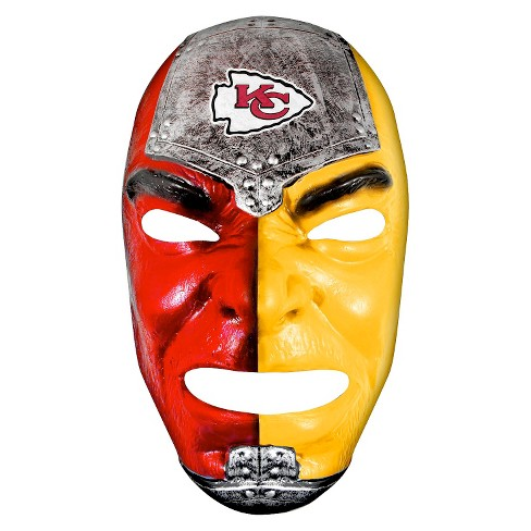Kansas City Chiefs Franklin Sports Fan Face Mask - image 1 of 1