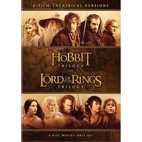 Middle Earth 6-Film Collection (DVD) - image 1 of 1