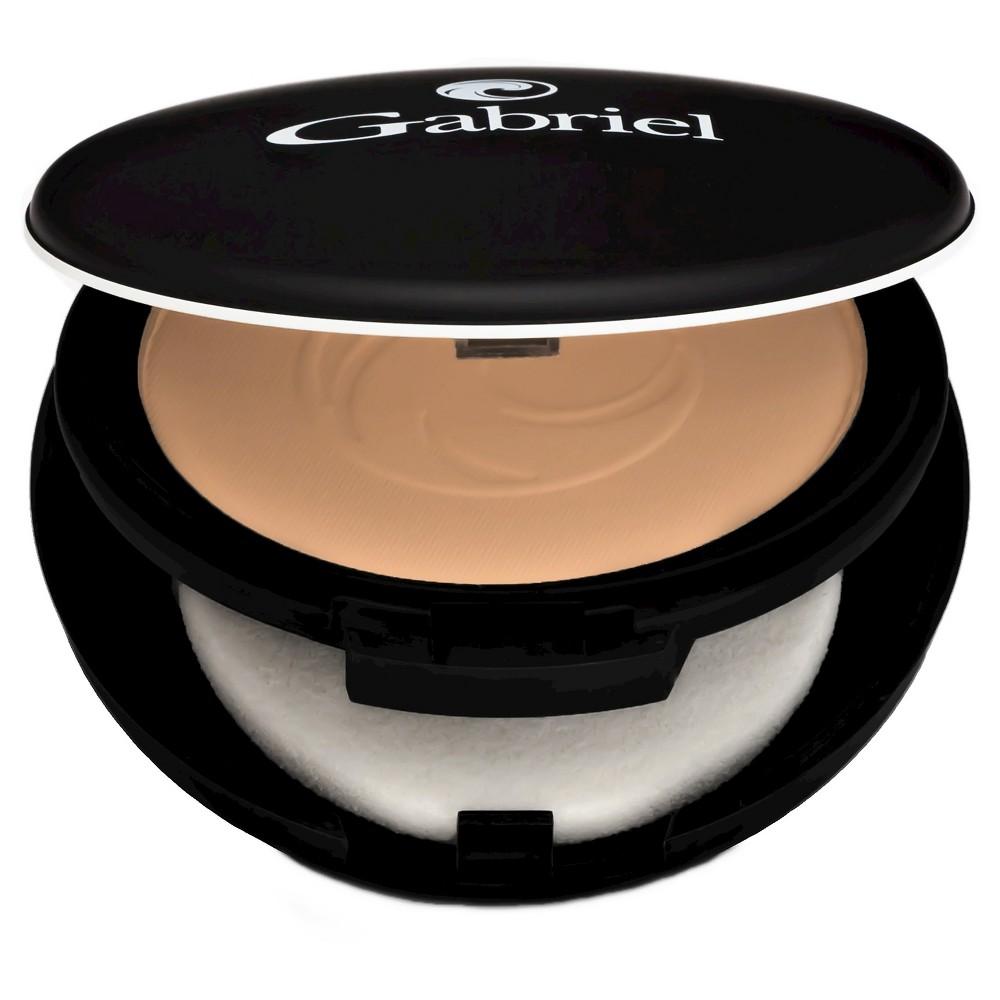 Image of Gabriel Cosmetics Dual Powder Foundation - Tan Beige, Size: .32oz