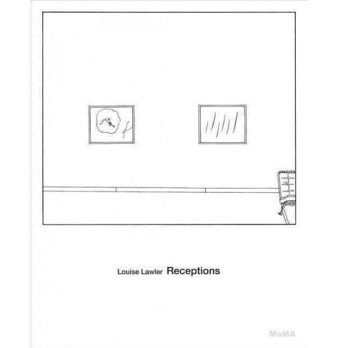 Louise Lawler : Receptions (Hardcover) (Roxana  Marcoci) - image 1 of 1