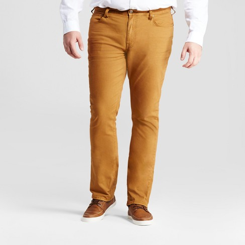 Men's Tall Slim Fit Jeans - Goodfellow & Co™ Khaki - image 1 of 4