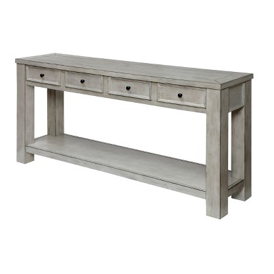 Jones Accent Table Antique White - HOMES: Inside + Out