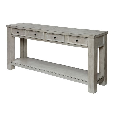 Jones Accent Table Antique White - ioHOMES - image 1 of 3