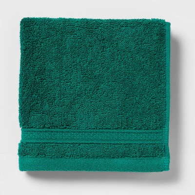 Perfectly Soft Solid Washcloth Bluff Green - Opalhouse™