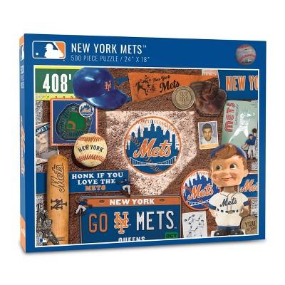 MLB New York Mets 500pcs Throwback Puzzle