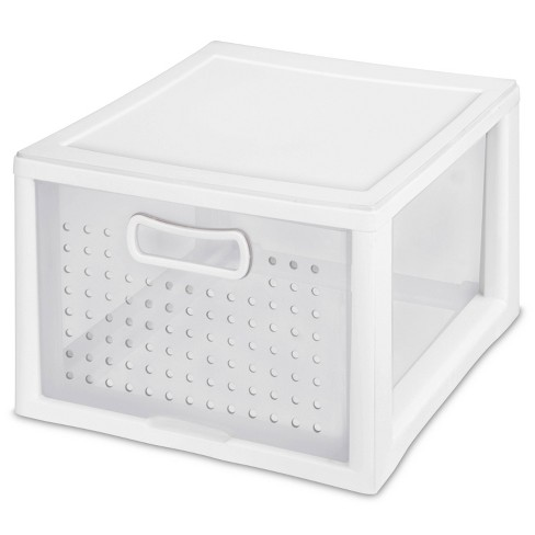 Sterilite Small Deep Modular Drawer White - image 1 of 4