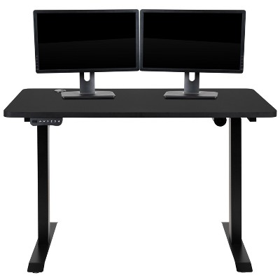 """Flash Furniture Electric Height Adjustable Standing Desk - Table Top 48"""" Wide - 24"""" Deep"""