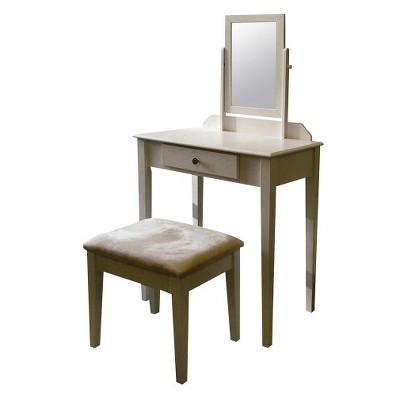 Ore International Vanity Set - White