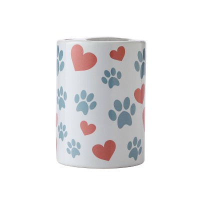 Hearts and Paws Toothbrush Holder - SKL Home
