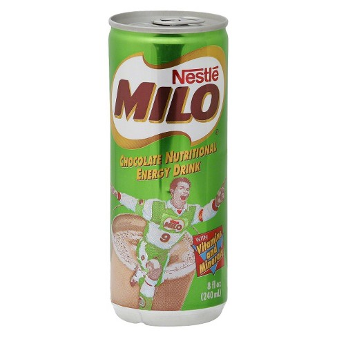 Milo Chocolate Energy Drink - 8 fl oz Can - image 1 of 1