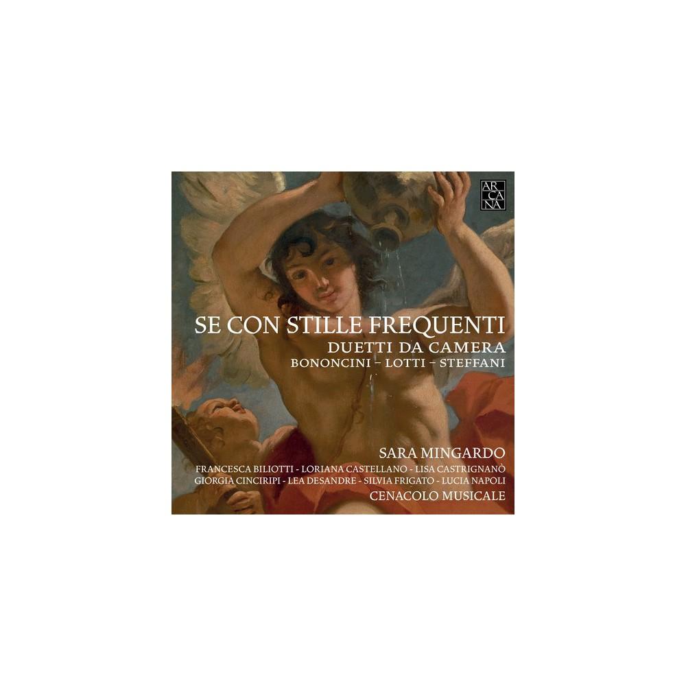 Sara Mingardo - Se Con Stille Frequneti (CD)