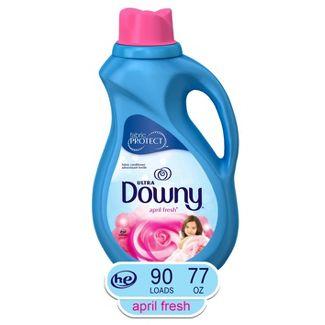 Ultra Downy April Fresh Liquid Fabric Conditioner - 77 fl oz