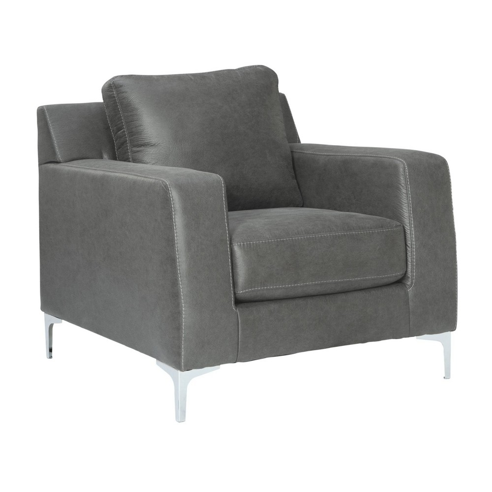 Ryler Chair Charcoal Gray - Signature Design by Ashley