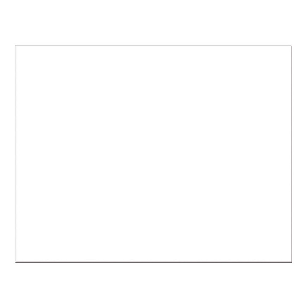 Pacon Presentation Board - White