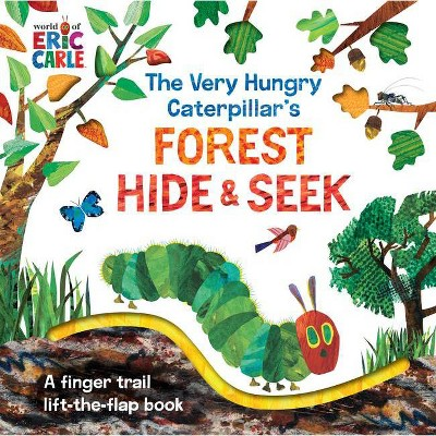 The Very Hungry Caterpillar's Forest Hide & Seek - (World of Eric Carle)by Eric Carle (Board Book)