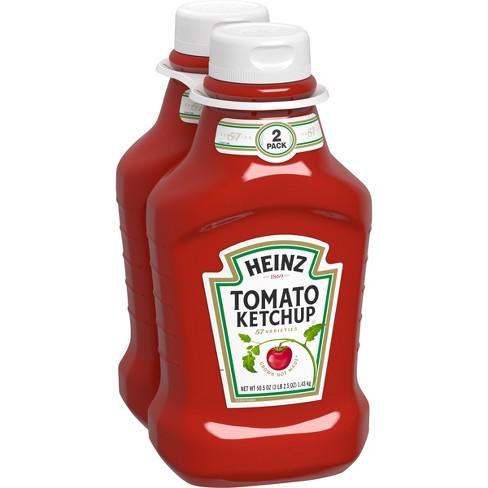 Heinz Tomato Ketchup - 50.5oz/2pk : Target