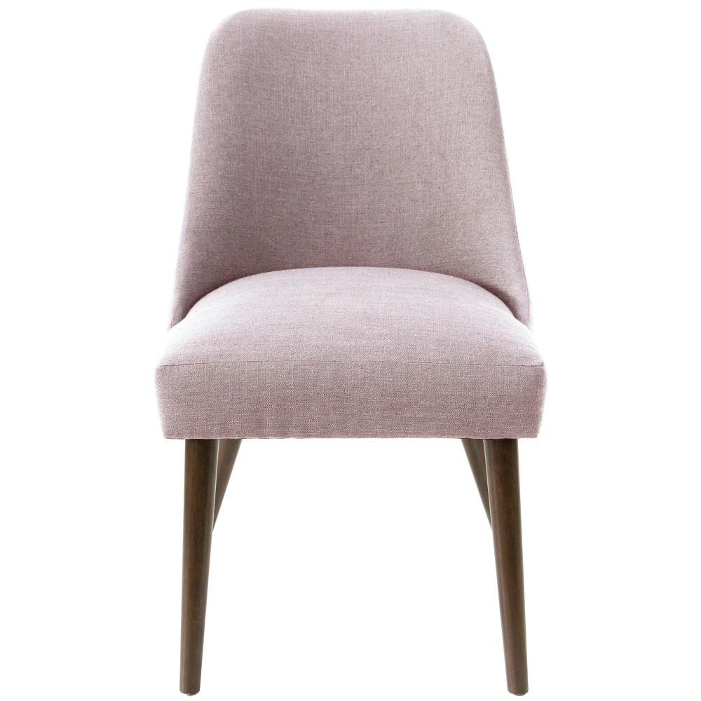 Geller Modern Dining Chair Lavender Linen - Project 62