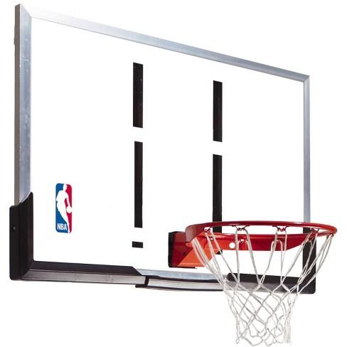 Spalding Nba 54 Acrylic Portable Basketball Hoop Target