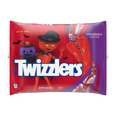 Twizzlers Halloween Strawberry Twists Bag Snack Size - 12oz