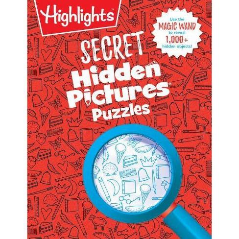 Highlights Secret Hidden Pictures -  (Paperback) - image 1 of 1