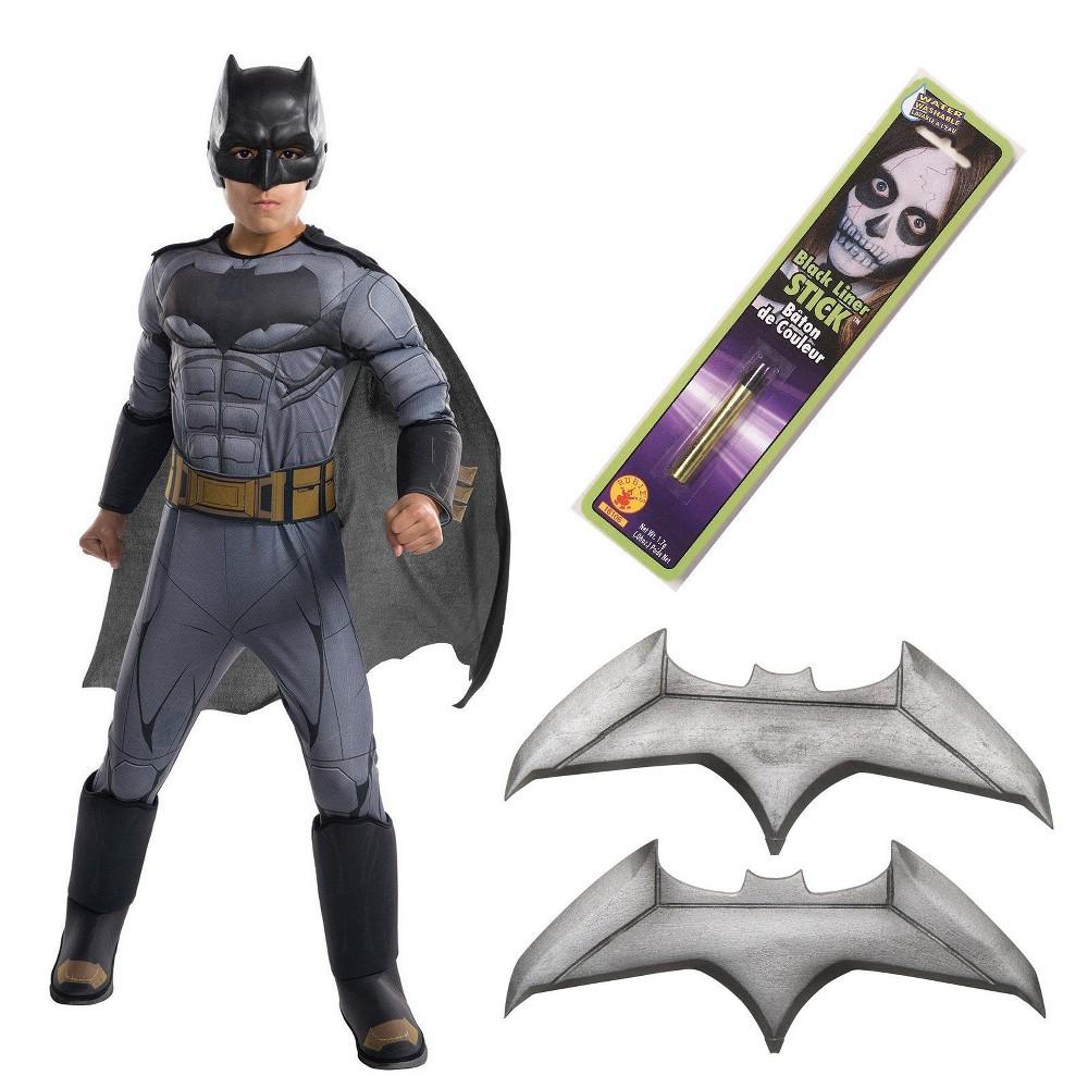 Kids' DC Comics Batman Deluxe Costume - L, Boy's, Multi-Colored