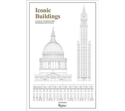 Iconic Buildings : An Illustrated Guide to the World's Most Remarkable Architecture (Paperback) - image 1 of 1