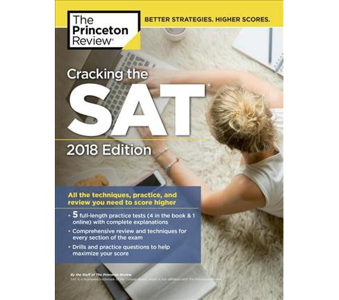 Princeton Review Cracking the Sat 2018 : The Strategies, Practice, and Review You Need for the Score You - image 1 of 1