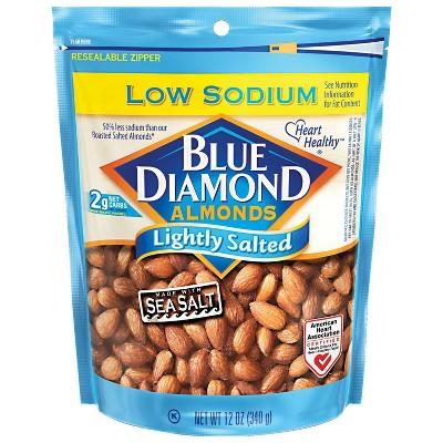 Blue Diamond Almonds Lightly Salted - 12oz